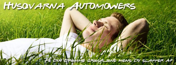 automowers, Græstrimmere, Robotplæneklippere, Auto græsslåmaskine, Græstrimmer, Husqvarna automower, Plænerobotter, Græsplæne